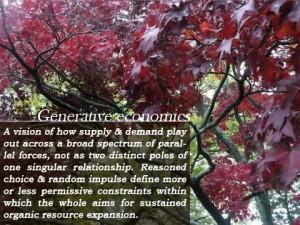 Proposals & Analysis on Generative Economics, at TheHotSpring.com