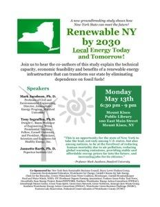 Renewable NY by 2030 - Mt. Kisco, 5/13
