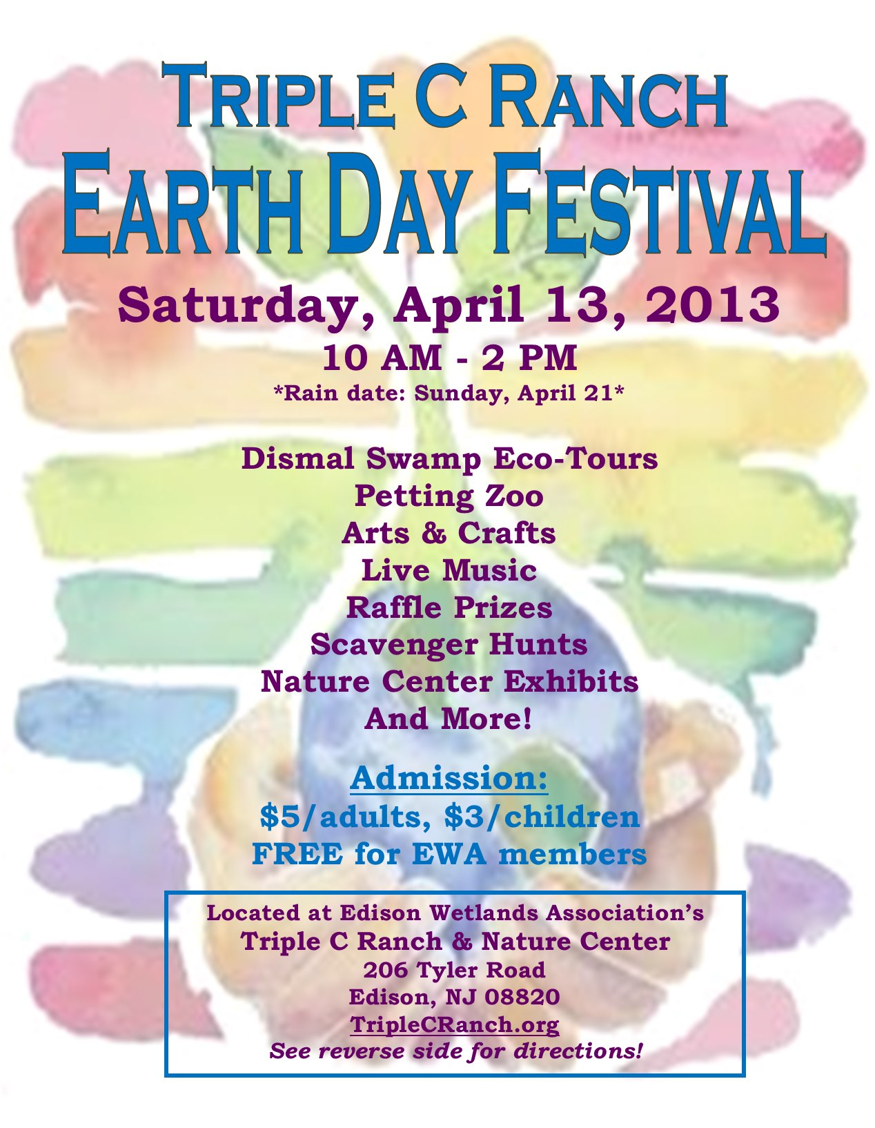 EWA, Triple C Ranch Celebrate Earth Day
