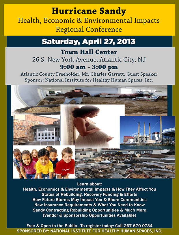 NJEF Sandy Recovery & Environment Conference: 4/27