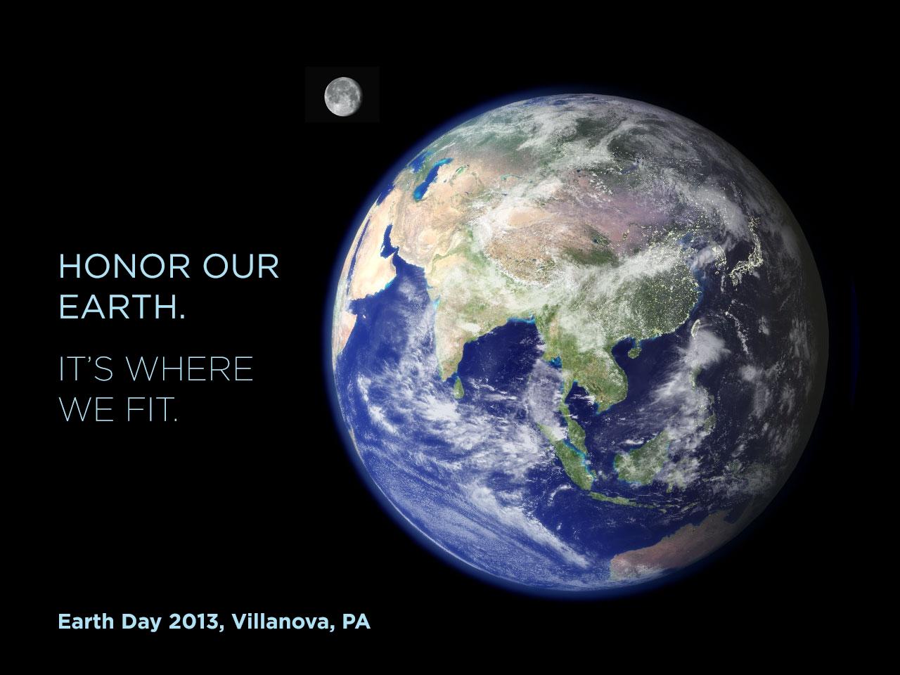 Villanova's 43rd Earth Day Celebration to be Held April 22, 2013
