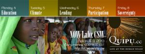 NOW Labz CSW 2013 Online Forum